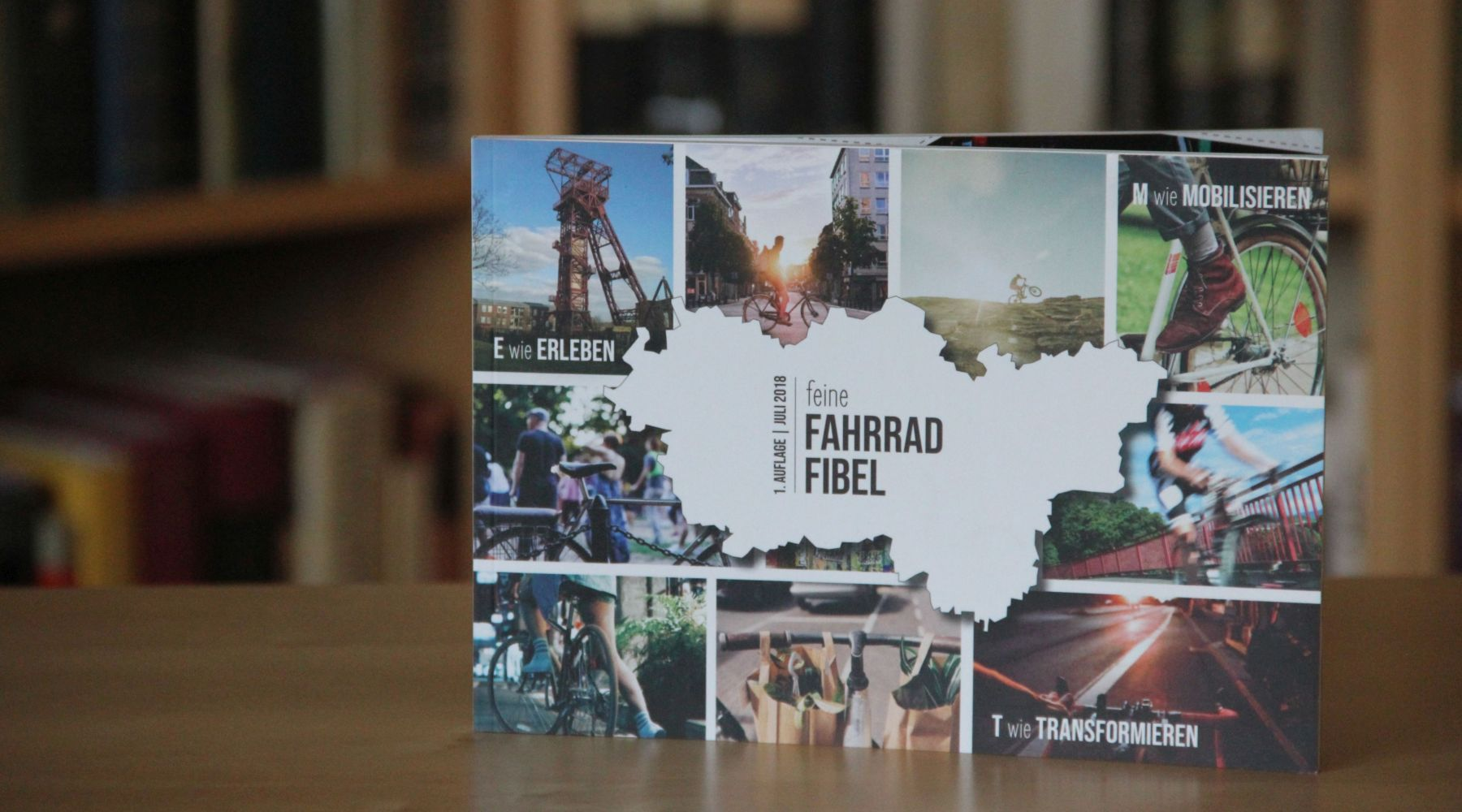 FeineFahrradFibel, Cover